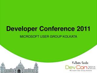 Developer Conference 2011