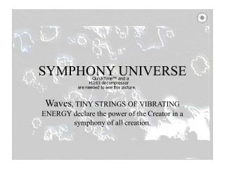 SYMPHONY UNIVERSE