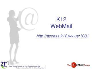 K12  WebMail