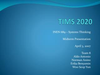 TIMS 2020
