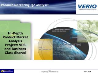 Product Marketing Q2 Analysis