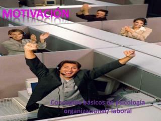Conceptos básicos de psicología organizacional/ laboral