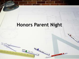 Honors Parent Night