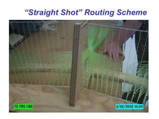 """Straight Shot"" Routing Scheme"