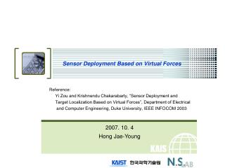 Sensor Deployment Based on Virtual Forces