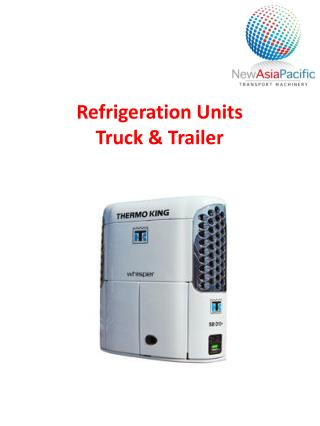 Refrigeration Units Truck & Trailer
