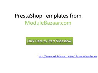 PrestaShop Themes & Templates