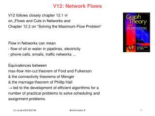 V12: Network Flows