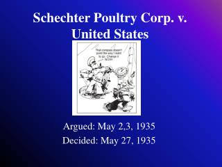 Schechter Poultry Corp. v. United States