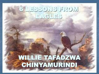 6 LESSONS FROM EAGLES