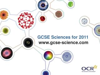 GCSE Sciences for 2011 gcse-science