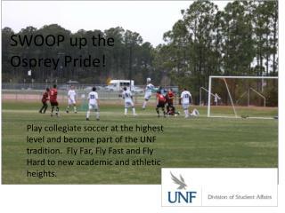 SWOOP up the         Osprey Pride!