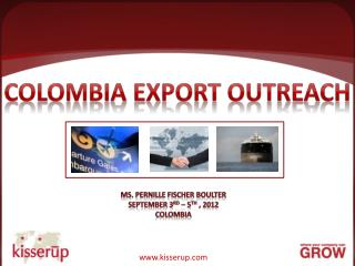 Colombia Export Outreach