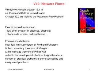 V10: Network Flows