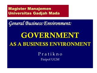 Magister Manajemen Universitas Gadjah Mada