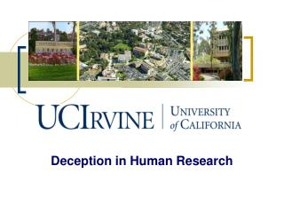 Deception in Human Research
