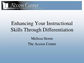 Melissa Storm The Access Center