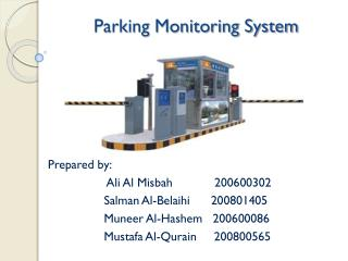 Parking Monitoring System