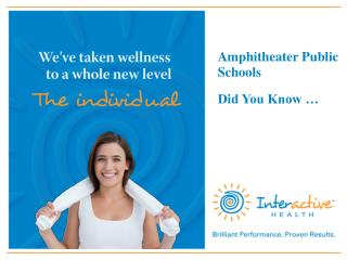 Amphitheater Public Schools Did You Know …