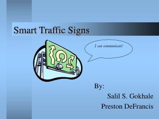 Smart Traffic Signs