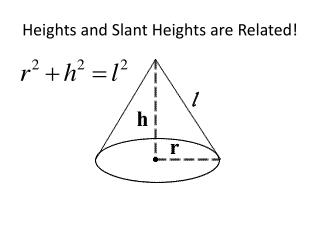 Heights and Slant Heights are Related!