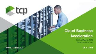 Cloud Business Acceleration