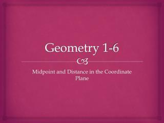 Geometry 1-6