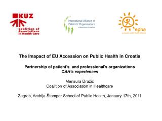 The Imapact of EU Accession on Public Health in Croatia