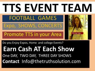 TTS EVENT TEAM