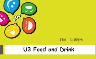 U3 Food and Drink