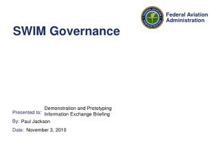 SWIM Governance