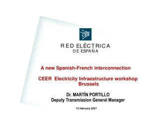 A new Spanish-French interconnection