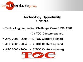 Technology Opportunity Centers