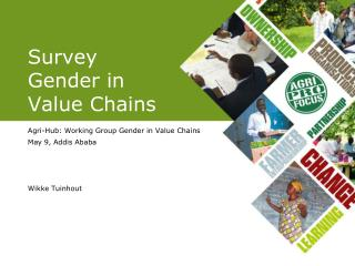 Survey Gender in Value Chains