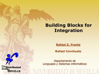 Building Blocks for Integration