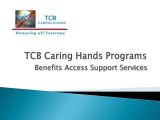 TCB Caring Hands Programs