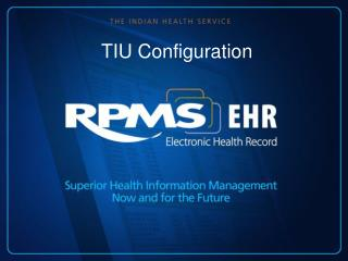 TIU Configuration