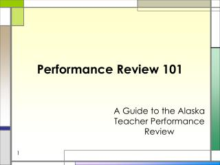 Performance Review 101