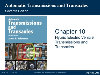 Chapter 10: Electrical Systems