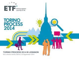 TORINO PROCESS  2014 IN LEBANON
