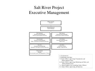 Salt River Project Executive Management