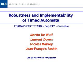 Robustness and Implementability of Timed Automata
