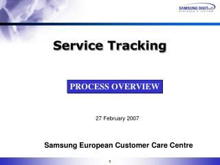 Samsung European Customer Care Centre