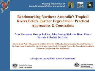 A Project of the National Rivers Consortium