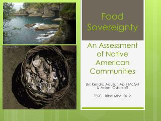 Food Sovereignty  An Assessment  of Native American Communities