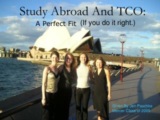 Study Abroad And TCO: