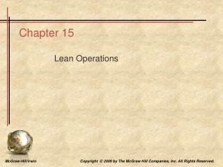 Lean Operations
