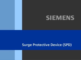 Surge Protective Device (SPD)