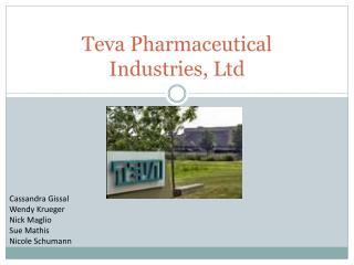 Teva Pharmaceutical Industries, Ltd