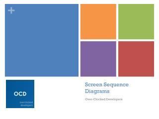 Screen Sequence Diagrams